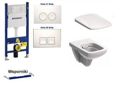 Set do kúpeľne a WC - GEELLIT MISKA WC WC NOVA PRO RIMFREE DESKA W / P