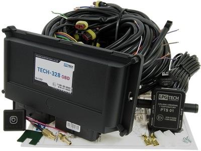 LPGTECH TECH-328 OBD ЕЛЕКТРОНИКА РАЗДЕЛ 8 CYL