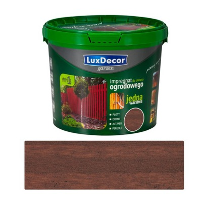 c8e9ba61a8d5 Záhradný nábytok - DREVA IMPREGNÁCIA LuxDecor GARDEN 5L TEAK