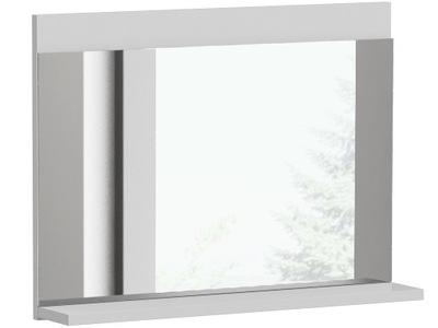 зеркало 1 полка для ВАННОЙ белое LUMO L1 белый