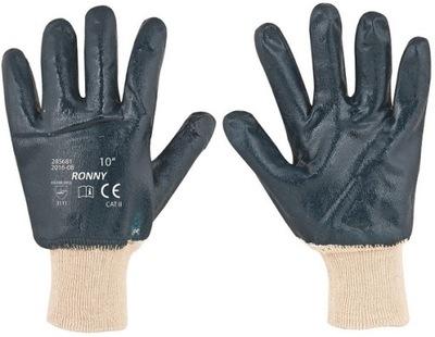 Nitrilové pracovné rukavice Maniet 12 Par Ronny 10