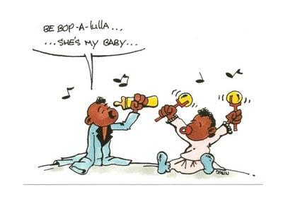 Открытка - Младенцы и Рок-н-ролл ...