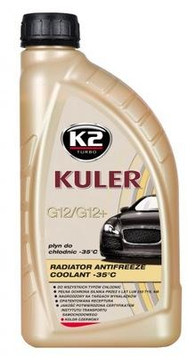 K2 KULER CZERWONY 1L Gotowy płyn do chłodnicy