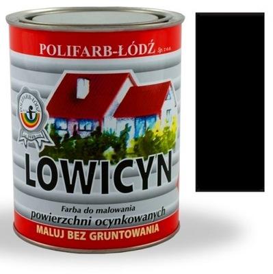 Lowicyn náter na zinok RAL9005 MATTE BLACK 0.8 L