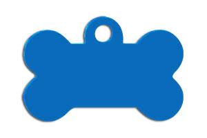 Идентификатор для собаки кость 69287 голубая большая