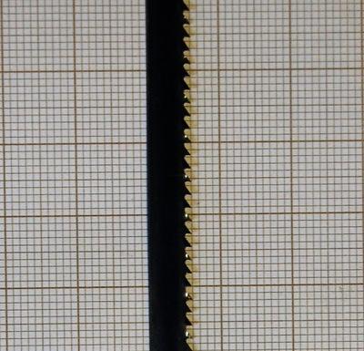 Plátno pre bandsaw modelovanie 6x0,6 14s
