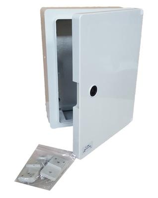 Kryt ABS plastové okno Kabinetu 500x400x175