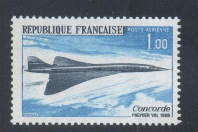 FRANCJA Mi. 1655 CZYSTY** CONCORDE