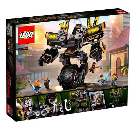 Klocki LEGO Ninjago Movie Mech wstrząsu 70632