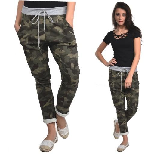 7b0946d3d5264a ITALY Spodnie dresowe BAGGY MORO HIT ! NEW S,M,L 6770620494 - Allegro.pl