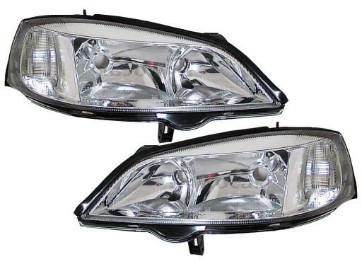 Lampy Reflektory Reflektor Opel Astra Ii 2 G Depo Myslowice Allegro Pl