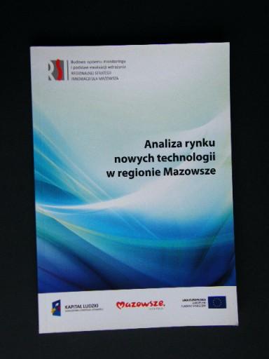 ANALIZA RYNKU NOWYCH TECHNOLOGII W REGIONIE MAZOWS