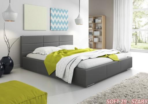 łóżko Do Sypialni 200 X 160 Z Pojemnikiem Tapczan