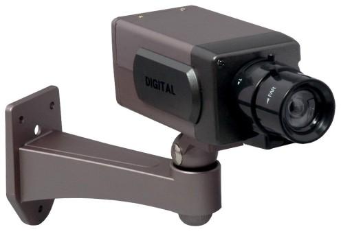 ATRAPA kamery CCTV dioda LED telewizja_PRZEMYSLOWA