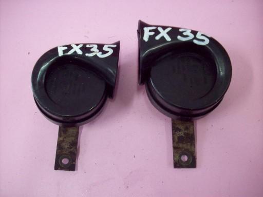 INFINITI FX 35 FX45 SOUND SIGNAL A SIGNAL 03-2008Y.