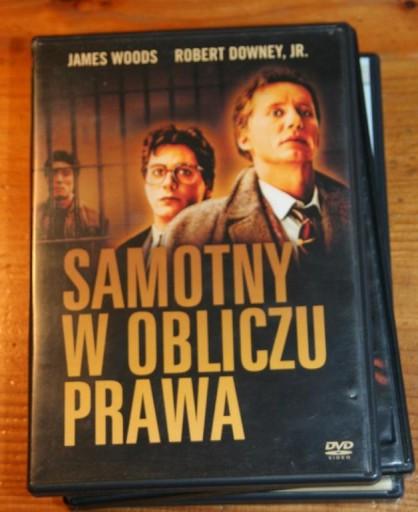 SAMOTNY W OBLICZU PRAWA    DVD