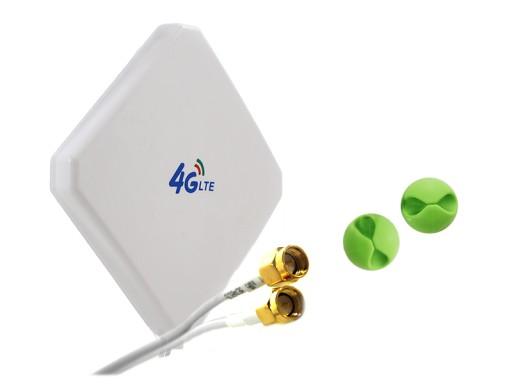 Antena wzmacnia LTE 25dBi do Routera ZTE MF286