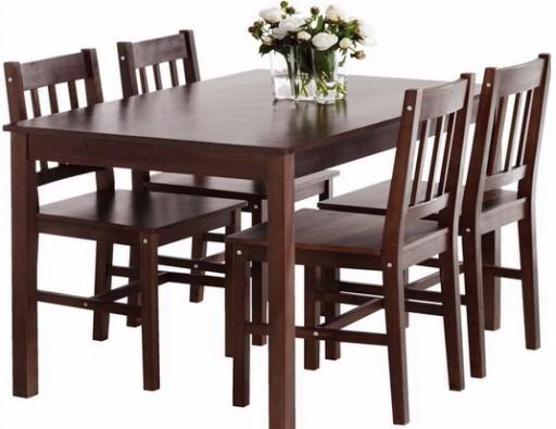 Stół 4 Krzesła Do Salonu Kuchni Jadalni Z Sosny