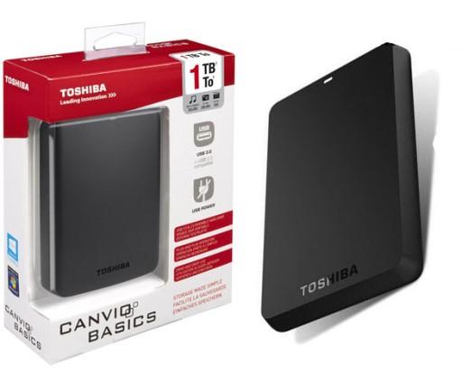 Dysk Zewnetrzny 1tb Toshiba Canvio Basic Usb 3 0 Dyski I Pamieci Przenosne Allegro Pl