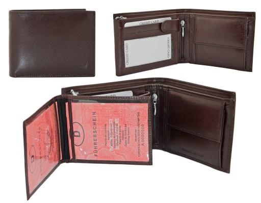 b3abbbf58a64b Sórzany Portfel Męski - mieści dużo kart SKÓRA 5639616971 - Allegro.pl