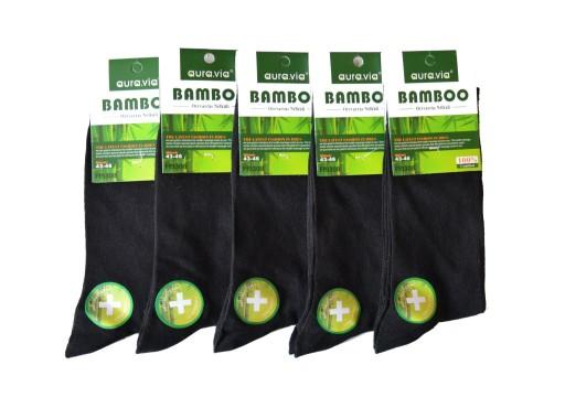 Bambus Skarpety Bambusowe Meskie 5par 43 46 Czarne 7488307679 Allegro Pl