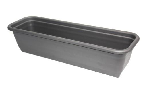 Skrzynka Balkonowa Plastikowa Antracyt 60cm 7275571225 Allegro Pl