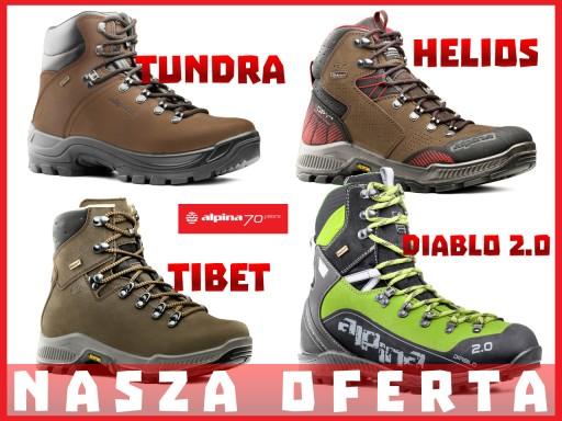 ALPINA TUNDRA Skóra Buty Trekkingowe 100%EUROPA!!!