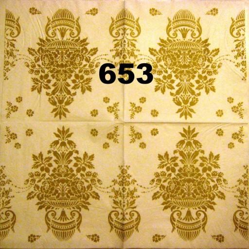 Serwetki do decoupage-2szt -NR 653