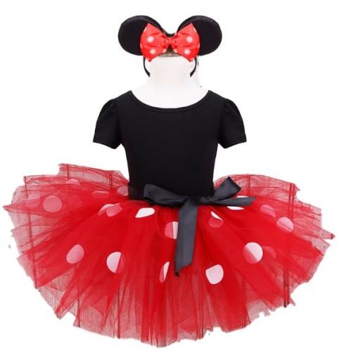 Stroj Karnawalowy Myszka Miki Minnie Czerwona 110 6875794300 Allegro Pl