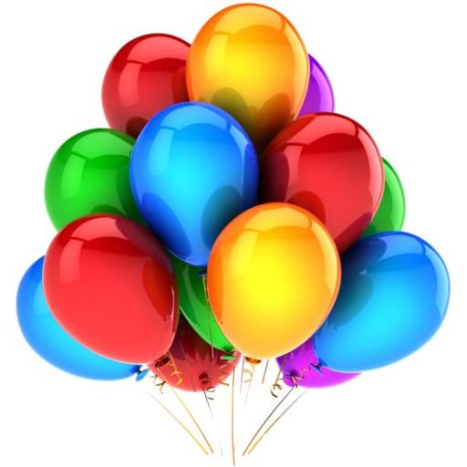 Kolorowe Balony PASTEL 40cm 50szt 14 CALI HEL mix 6074941874 - Allegro.pl