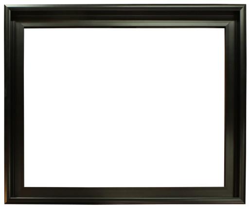 Nowoczesna czarna rama typu eLka 30x40 (40x30) cm