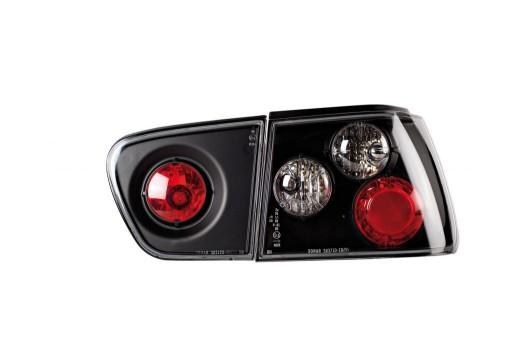 Seat Ibiza 99 Lampy Tylne Lampa Black Tuning Nowa