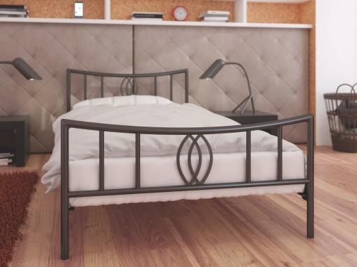 łóżko Metalowe Lak System 100x200 Wzór 11 Stelaż