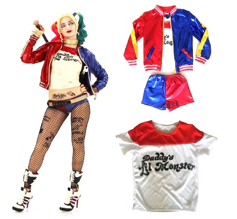 Strój Harley Quinn Kostium Legion Samobójców 7552730473 Allegro Pl