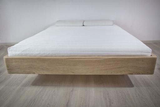 łóżko Laos 200x200 Lewitujące łóżko Z Drewna