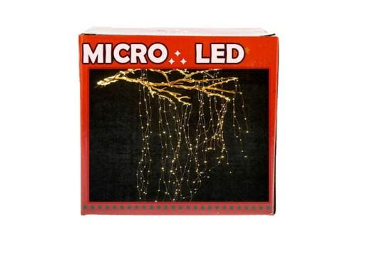 LAMPKI DRUCIKI 300 LED MIKRO 230V 20 LINI PO 1,5m