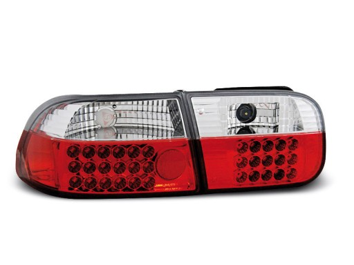 Lampy tył HONDA CIVIC 91 95 Sedan Coupe LED diodow