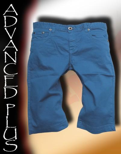 ADVANCED PLUS - szorty,spodenki - niebieskie- r29*