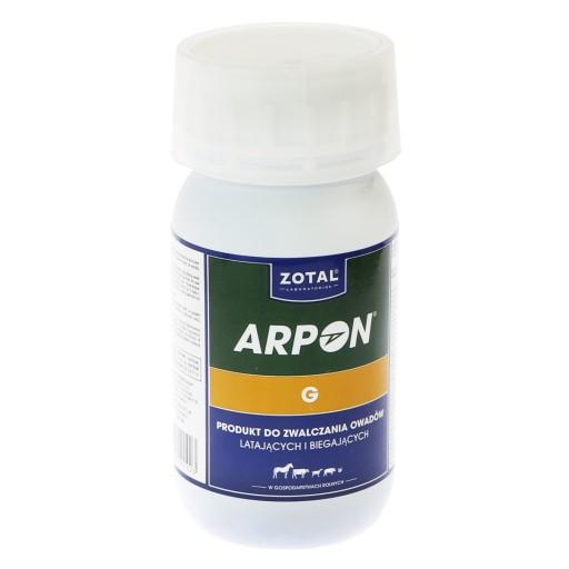 ARPON G 250 ml muchy kleszcze larwy Ciper-Pulvizoo