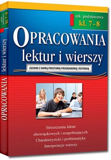 Opracowania Lektur I Wierszy 7 8 Sp Greg Wyd 2018 25 Zl Allegro Pl Raty 0 Darmowa Dostawa Ze Smart Warszawa Bemowo Stan Nowy Id Oferty 7185201825