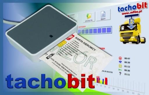 Czytnik kart kierowców i program TachoBit Raport 6957287308