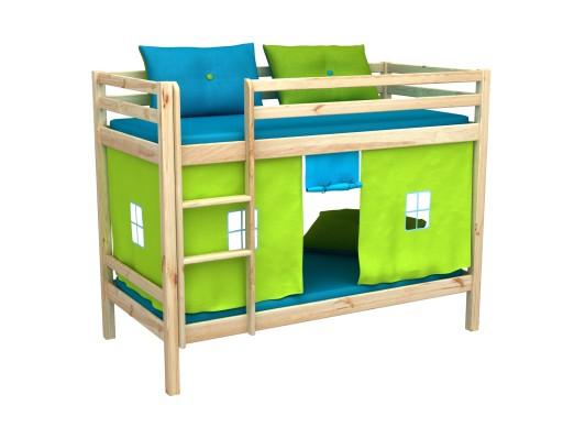 łóżko Piętrowe Komplet Lozko Pietrowe Materace 6914208422