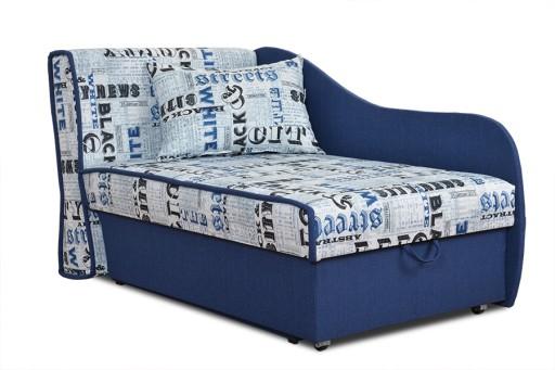 Tapczan Alfred łóżko Młodzieżowe Rozkładane