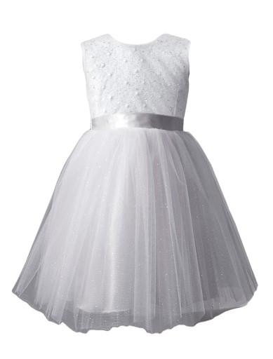 f74eab61d1 Sukienka tiulowa tutu komunia wesele chrzest 62 (7554204012 ...