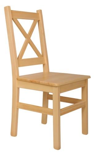 krzesła drewniane surowe