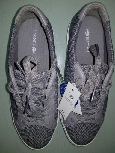 Lacoste tenisówki,adidasy,trampki szare r.37