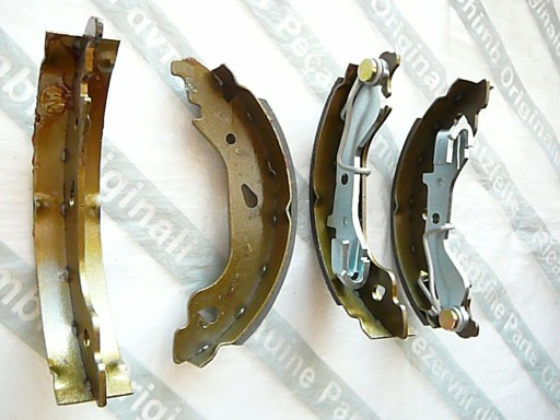 Fiat Punto II +ABS szczęki hamulcowe 180x32 L+P