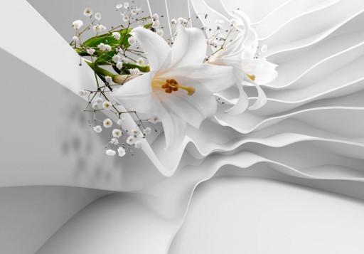 Fototapeta 3d Kwiaty Lilie 350x256cm B C 0144 A A 7077760725