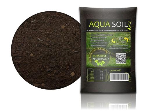 AQUA SOIL Podłoże na bazie ZIEMI OGRODOWEJ 1L