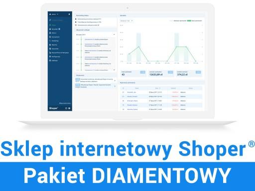 Sklep Internetowy Shoper Diamentowy Promocja Sklep Komputerowy Allegro Pl